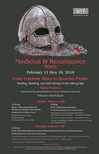 Medieval & Renaissance Week Includes Pedagogy