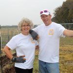 Cece and Steven O'Day at Great Day of Service