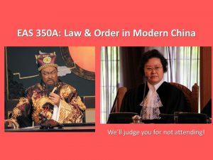 East Asian Studies 350A