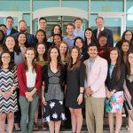Posey Leadership Institute Students with Barbara Pierce Bush - 2018