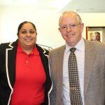 Sunita Nayani and Frank Rohmer