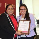 Sunita Nayani and Chemical Society Member