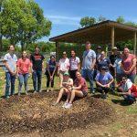 GreenServe 2018 Pottsboro Community Garden