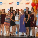Women's Tennis Team, with Steven and Cece O'Day