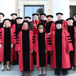 Board of Trustees at Commencement 2018