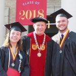 President O'Day with Marissa Alyse Wilkinson & Deric Zane McCurry