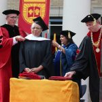 Honorary Doctorate presented to Joyce Davis