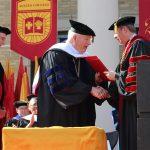 Honorary Doctorate presented to John Hitt