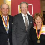 Ben Hulsey, Steven O'Day and Mary Gwen Chapin Hulsey