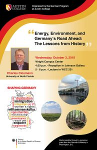 Shaping Germany Lecture 2018.