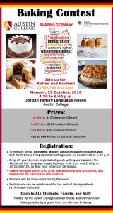 Shaping Germany Baking Contest
