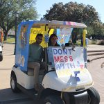 Homecoming Golf Cart Parade