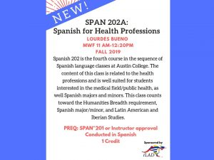 SPAN 202A: Spanish for Health Professions