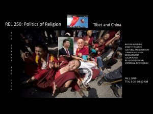 REL 250: Politics of religion