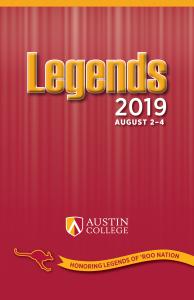Legends Brochure 2019