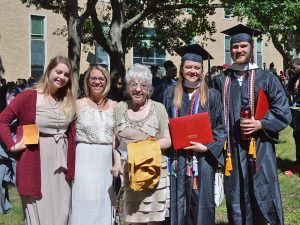 Families at Commencement