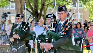 Bagpipes at Commencement