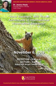 Have Squirrels, Will Travel: Adventures in International Hibernation Research