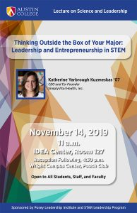 Thinking Outside the Box of Your Major: Leadership and Entrepreneurship in STEM