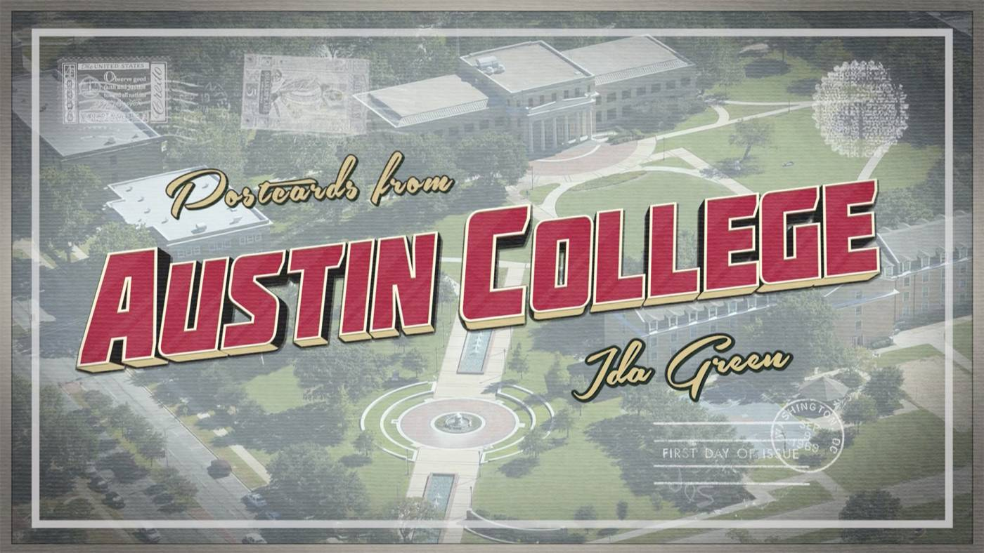 Postcards from Austin College - Ida Green