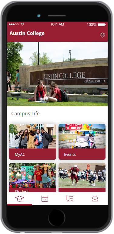 Austin College App screenshot