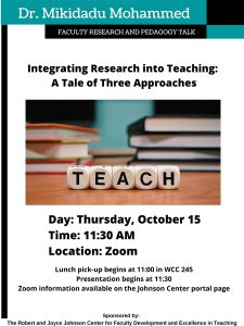 Integrating Research into Teaching: A Tale of Three Approaches