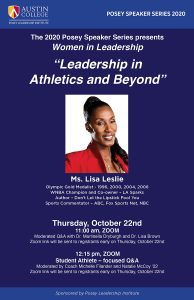 Women in Leadership Lecture
