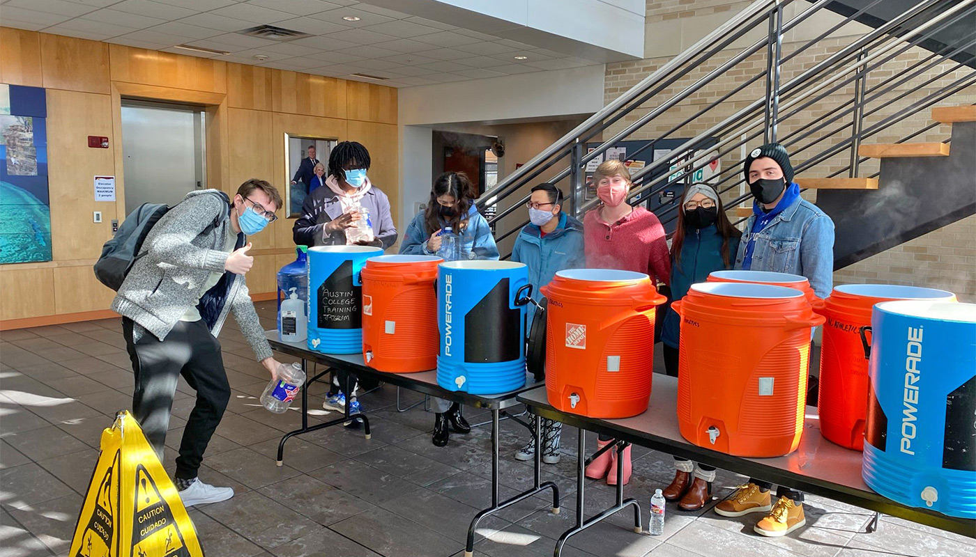 Water for Students in WCC
