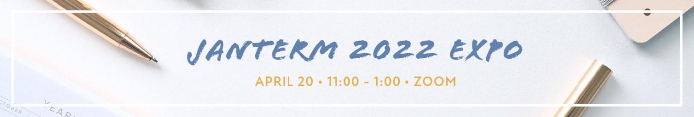 JanTerm 2022 Virtual Expo