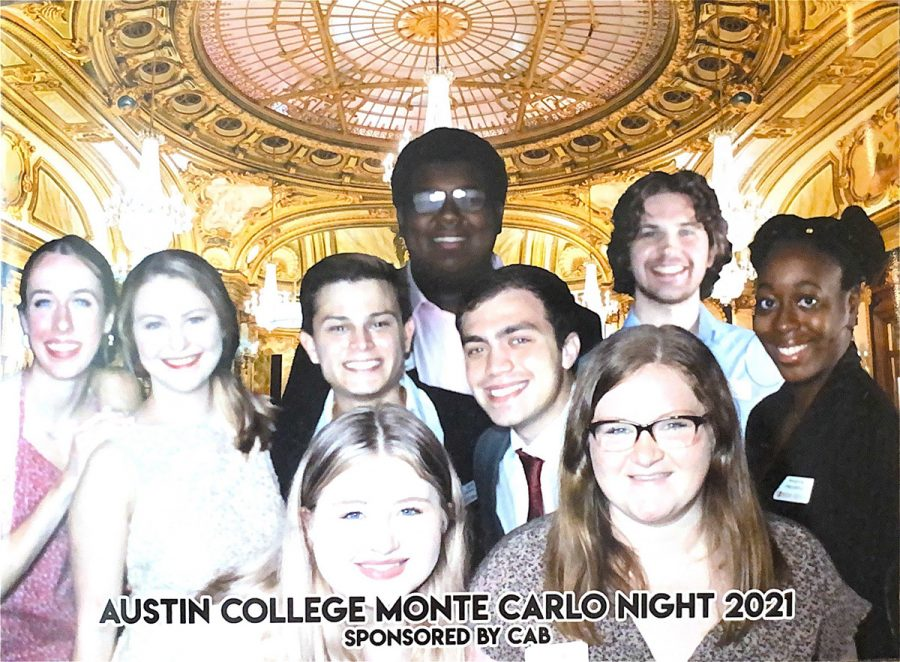 CAB Officers at Monte Carlo Night